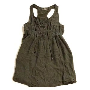 Women's Olive Green Tank Dress